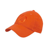 Orange Twill Unstructured Low Profile Hat-Navigators Sail