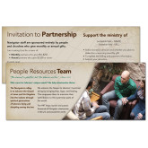 Personalized People Resources Team Insert-