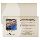 Prayer Card Personalized front & Blank Back-