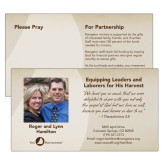 Prayer Card Personalized front & Custom Prayer Request Back -