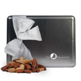 Navigators Deluxe Nut Medley Silver Large Tin-The Navigators Engraved