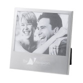 Silver 5 x 7 Photo Frame-The Navigators - Worldwide Partnership Engraved