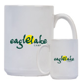 Full Color White Mug 15oz-Eagle Lake Camps