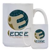 Full Color White Mug 15oz-iEdge Stacked