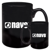Full Color Black Mug 15oz-NAVS