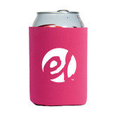 Collapsible Hot Pink Can Holder-El Mark