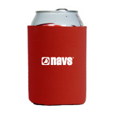 Collapsible Red Can Holder-NAVS