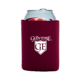Collapsible Maroon Can Holder-Glen Eyrie