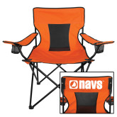 Navigators Deluxe Orange Captains Chair-NAVS