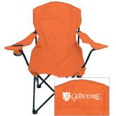 Deluxe Orange Captains Chair-Glen Eyrie - Flat