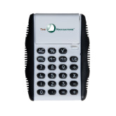 White Flip Cover Calculator-The Navigators