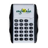 White Flip Cover Calculator-Eagle Lake Camps