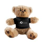 Plush Big Paw 8 1/2 inch Brown Bear w/Black Shirt-The Navigators
