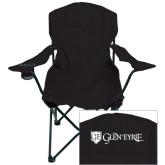 Deluxe Black Captains Chair-Glen Eyrie - Flat