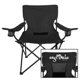 Deluxe Black Captains Chair-Eagle Lake Camps