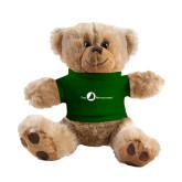 Plush Big Paw 8 1/2 inch Brown Bear w/Dark Green Shirt-The Navigators