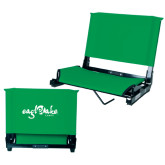 Stadium Chair Kelly Green-Eagle Lake Camps
