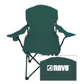 Navigators Deluxe Green Captains Chair-NAVS