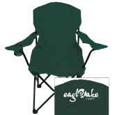 Deluxe Green Captains Chair-Eagle Lake Camps