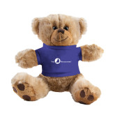 Plush Big Paw 8 1/2 inch Brown Bear w/Royal Shirt-The Navigators