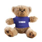 Plush Big Paw 8 1/2 inch Brown Bear w/Royal Shirt-NAVS