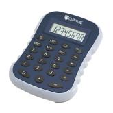 Blue Large Calculator-Glen Eyrie - Flat