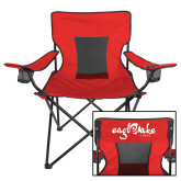Deluxe Red Captains Chair-Eagle Lake Camps