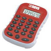 Red Large Calculator-NAVS