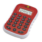 Red Large Calculator-Eagle Lake Camps