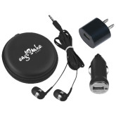 3 in 1 Black Audio Travel Kit-Eagle Lake Camps
