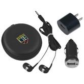 3 in 1 Black Audio Travel Kit-Glen Eyrie