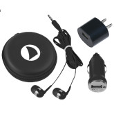 3 in 1 Black Audio Travel Kit-Navigators Sail