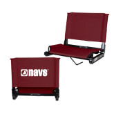 Stadium Chair Maroon-NAVS