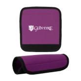 Neoprene Purple Luggage Gripper-Glen Eyrie - Flat