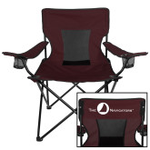 Navigators Deluxe Maroon Captains Chair-The Navigators