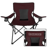 Deluxe Maroon Captains Chair-Navmissions