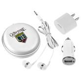 3 in 1 White Audio Travel Kit-Glen Eyrie