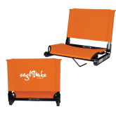 Stadium Chair Orange-Eagle Lake Camps