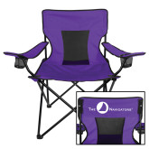 Navigators Deluxe Purple Captains Chair-The Navigators