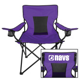 Navigators Deluxe Purple Captains Chair-NAVS