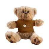 Plush Big Paw 8 1/2 inch Brown Bear w/Brown Shirt-The Navigators