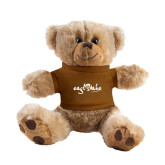 Plush Big Paw 8 1/2 inch Brown Bear w/Brown Shirt-Eagle Lake Camps