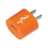 Orange USB A/C Adapter-Eagle Lake Camps