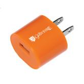 Orange USB A/C Adapter-Glen Eyrie - Flat