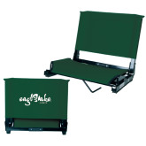 Stadium Chair Dark Green-Eagle Lake Camps