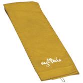 Gold Golf Towel-Eagle Lake