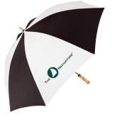 62 Inch Black/White Umbrella-The Navigators