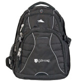 High Sierra Swerve Compu Backpack-Glen Eyrie - Flat