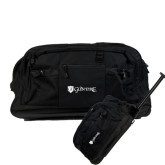 Urban Passage Wheeled Black Duffel-Glen Eyrie - Flat