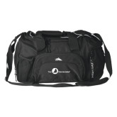 High Sierra Black Switch Blade Duffel-The Navigators